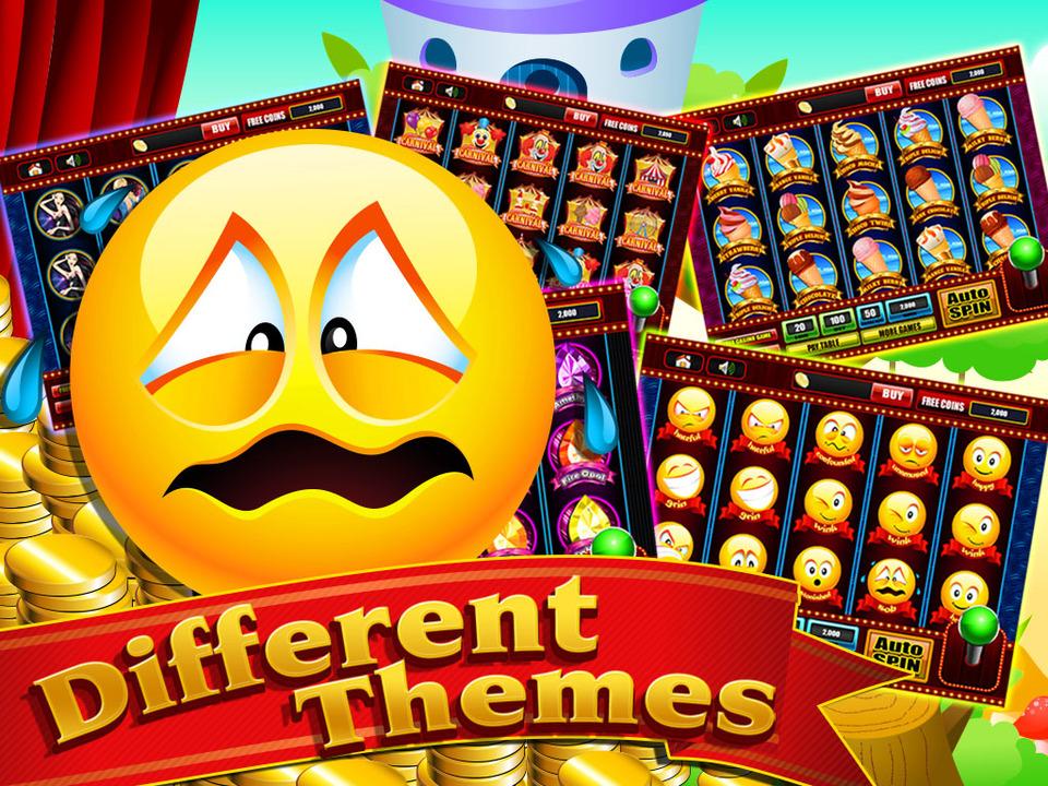 Play Emoji Planet slot online at Casino.com UK