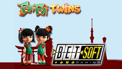 Betsoft takes inspiration from Asian mangas for the Fa-Fa Twins slot machine