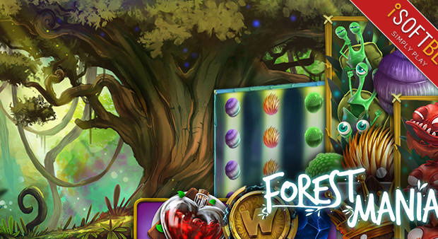 Participate in the € 4,000 promotion on the Forest Mania Slot Machine