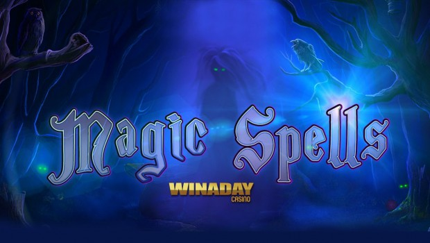 Winaday Casino launched the new Magic Spells slot machine