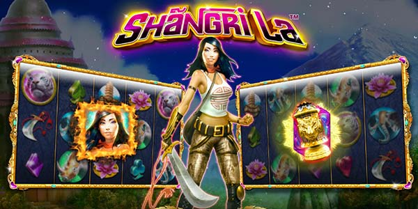 Play the new Shangri La slot machine from NextGen Gaming