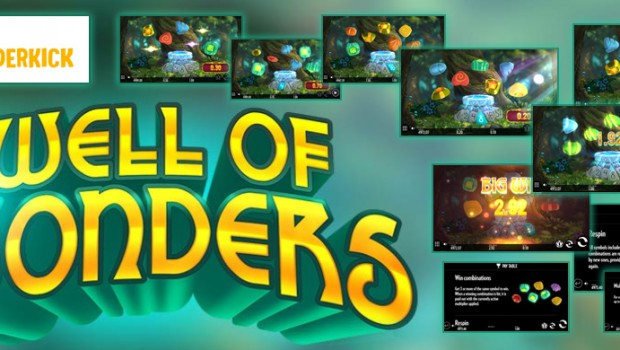 Discover the new Thunderkick Well of Wonders slot machine