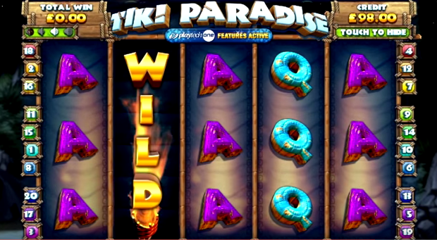 New Tiki Paradise slot machine