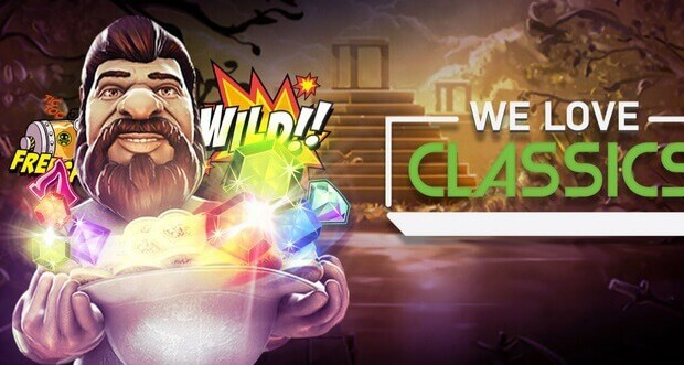 "Enjoy the ""We Love Classics"" promotion on Wild Sultan"