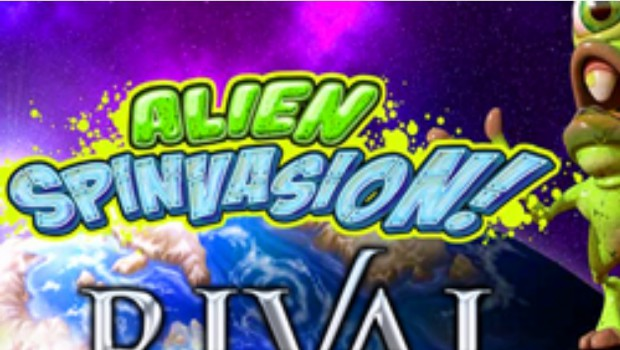 Rival Alien Spinvasion Slot Machine Available