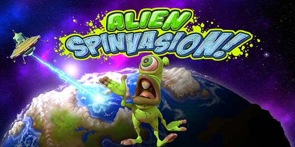 New Alien Spinvasion Slot with No Deposit Bonus