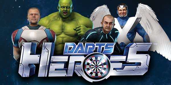 The Darts Heroes slot machine and its intergalactic darts championship