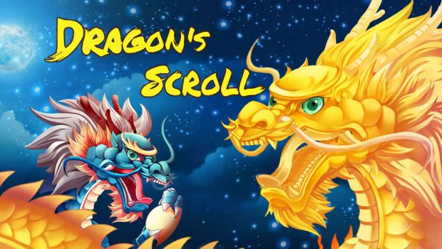 Enjoy the new Dragon's Scroll slot machine