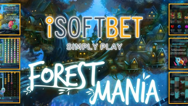 Several roll structures for iSOFT Bet and its new Forest Mania slot machine