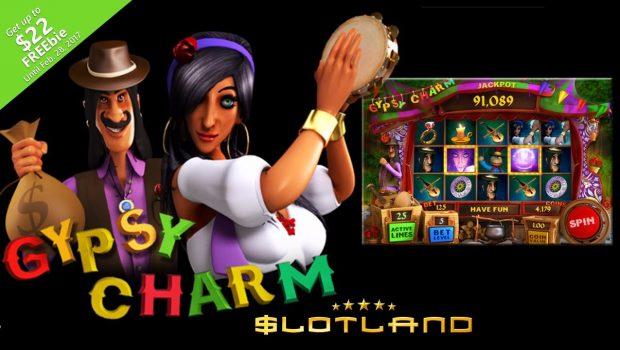 Gypsy Charm slot machine – Slotland's latest production