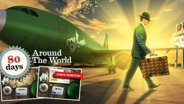 Take advantage of the Spring Clean slots promotion on Mr. Green Casino