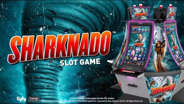 Pariplay launched a new slot machine named Sharknado