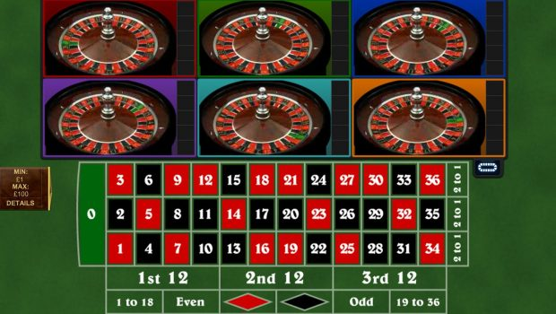 Six Wheel Method to roulette