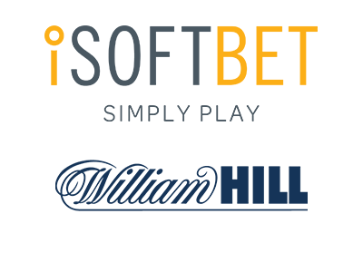 William Hill now also offers games from iSoftBet