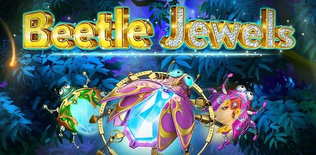 New Beetle Jewels slot machine launched at iSoftBet casinos