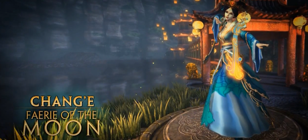 New Chang'e Goddess of the Moon by Genesis
