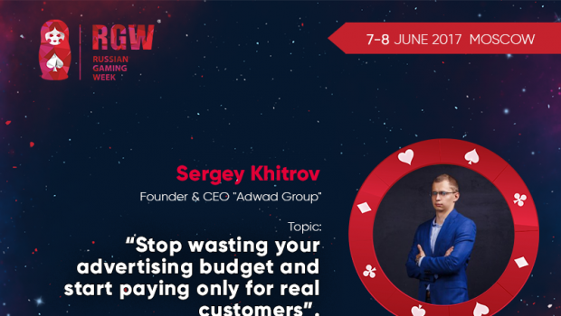Founder and chief executive of Adwad Group, will explain how to pay only for real customers at RGW 2017