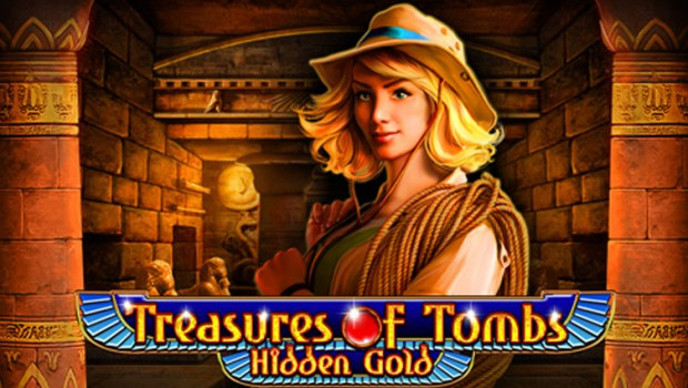 Play the new Treasures of Tombs Hidden Gold slot machine