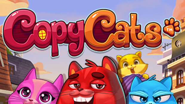 Cats still popular on the net with the Copy Cats slot machine