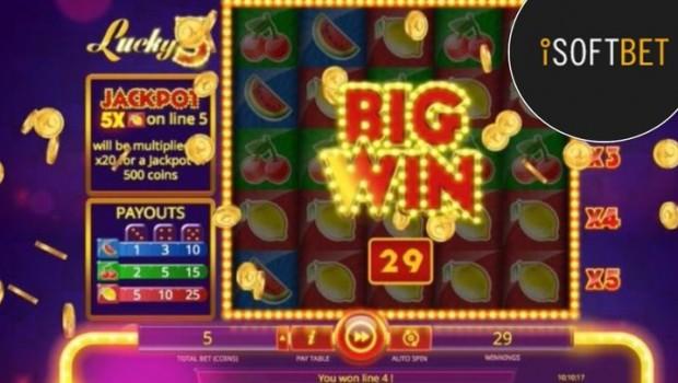 ISoftBet casinos host new Lucky3 slot machine