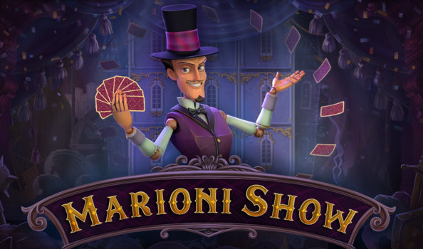Marioni Show, the future Playson slot on a medieval joust background