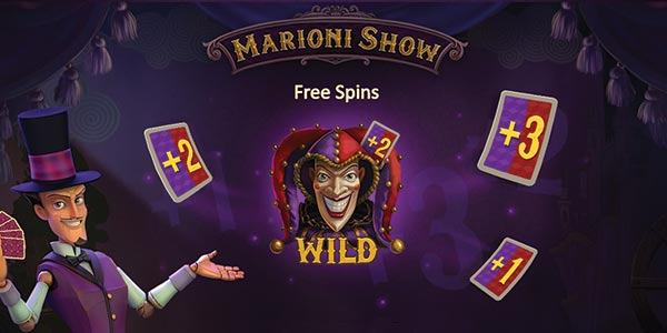 The Playson Marioni Show Slot Machine is already available