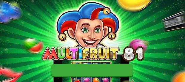 Play'n Go Multifruit 81 slot is already available