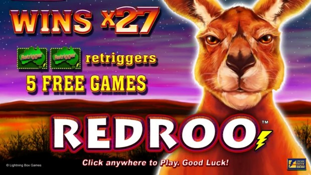 New Redroo slot machine from Lightning Box already available