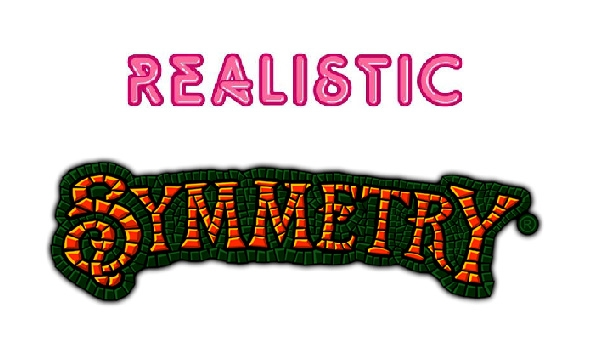 Realistic Games casinos showcase Symmetry slot machine
