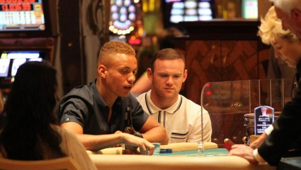 Wayne Rooney loses over £500,000 in two hours of gambling at casino