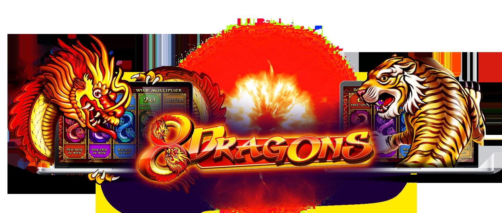 Pragmatic Play 8 Dragons Slot Machine