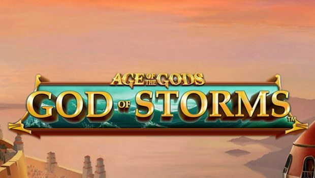 Playtech's Age of the Gods slot machine: Gods of Storms