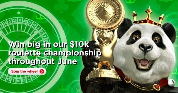 Roulette Tournament on the Royal Panda Casino