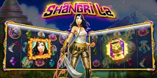 Play the newest Shangri La slot machine from NextGen