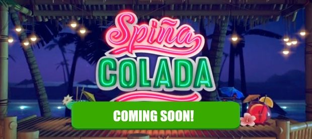 New Spina Colada slot machine available soon