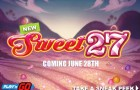Play'n Go is set to launch the new Sweet 27 slot machine