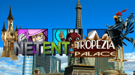 NetEnt games again available on Tropezia Palace!