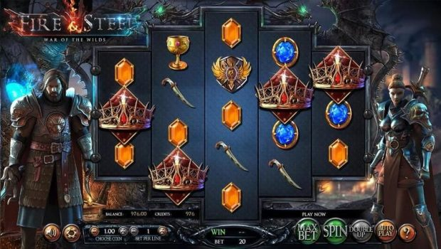 BetSoft Fire & Steel slot will soon be launched