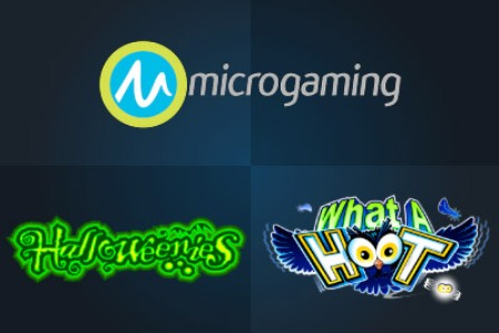 New Slots on Halloween Soon Developed by Microgaming