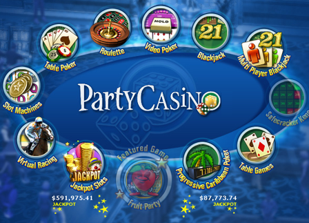 Progressive Jackpot won at Party Casino