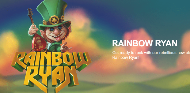 Yggdrasil makes his soul rocker at the leprechaun with the slot Rainbow Ryan