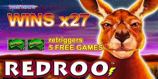Lightning Box Games launches its new RedRoo slot machine
