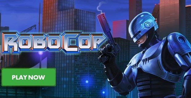 Playtech Delivers New Cinema Classic with RoboCop Slot Machine