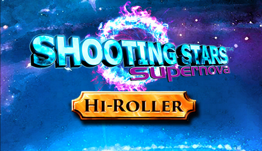 Novomatic unveils Shooting Stars Supernova slot machine