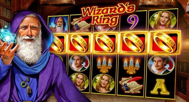 Novomatic announced its new Wizard's Ring slot machine