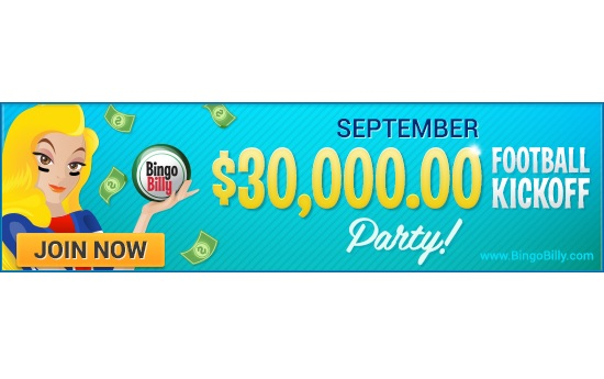 BingoBilly.com Builds Ultimate Promo Lineup for Start of Football Season