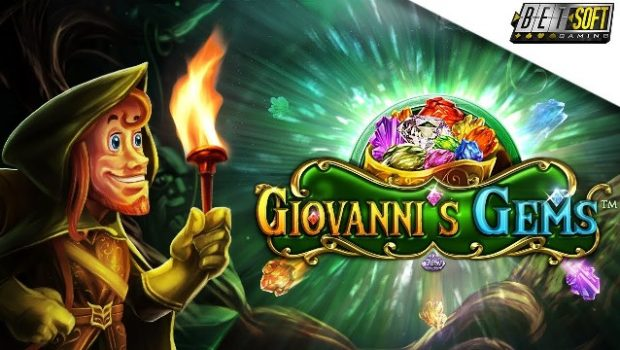 Play the new Giovanni's Gems Slot Machine with the Betsoft Deposit Bonus