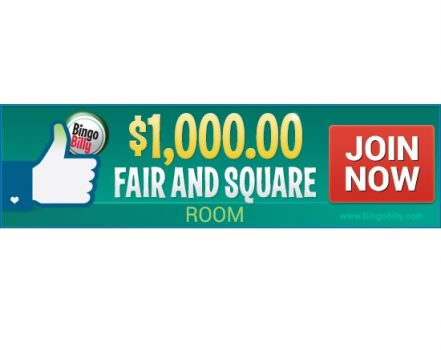 BingoBilly Unlocks Exciting $1,000 Fair N' Square Room