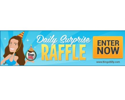 BingoBilly Surprises Players With Daily Raffle Offering Cash & Gifts