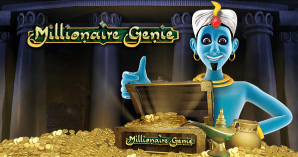 Millionaire Genie rewards a loyal player with its progressive jackpot